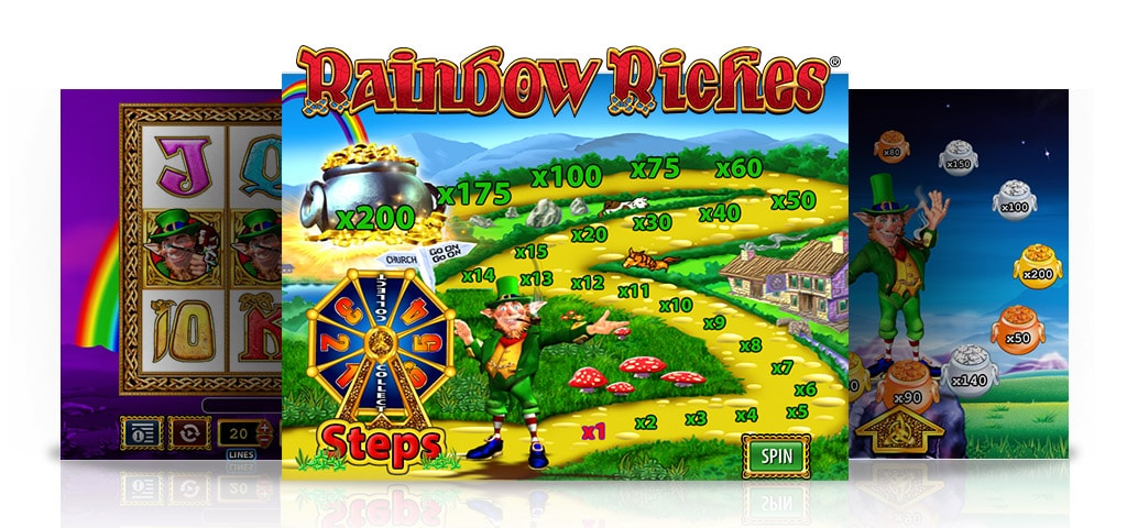 Play Rainbow Riches@Karamba